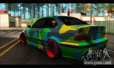 BMW M3 E36 Camo Style for GTA San Andreas left view