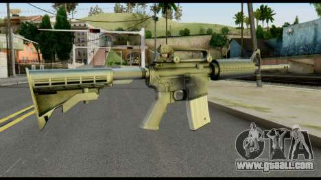 Colt Commando from Max Payne for GTA San Andreas second screenshot