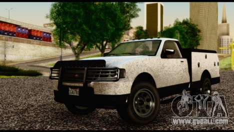 Utility Van from GTA 5 for GTA San Andreas