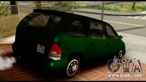 New Moobeam for GTA San Andreas left view