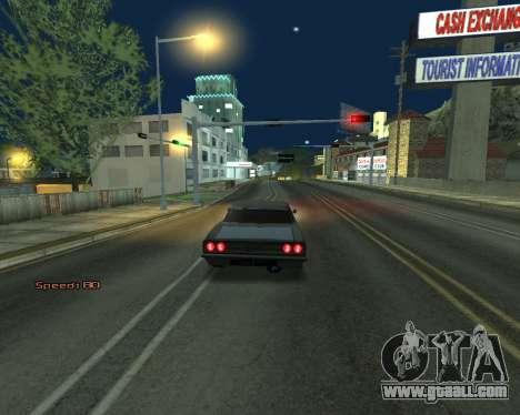 Car Speed for GTA San Andreas forth screenshot