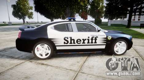 Dodge Charger SRT8 2010 Sheriff [ELS] for GTA 4 left view