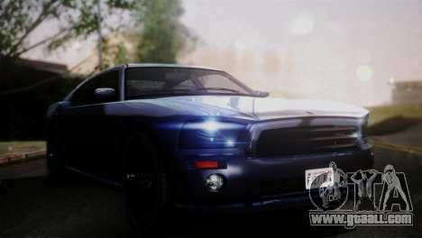 Bravado Buffalo Sedan v1.0 (HQLM) for GTA San Andreas back left view