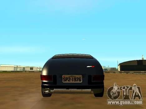 Volkswagen SP2 Original for GTA San Andreas inner view