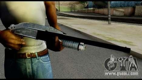 Pump Shotgun from Max Payne for GTA San Andreas third screenshot