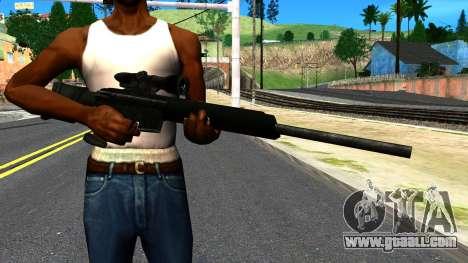 Sniper Rifle from GTA 4 for GTA San Andreas third screenshot