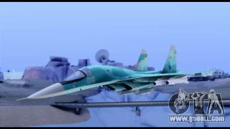 SU-34 Fullback for GTA San Andreas