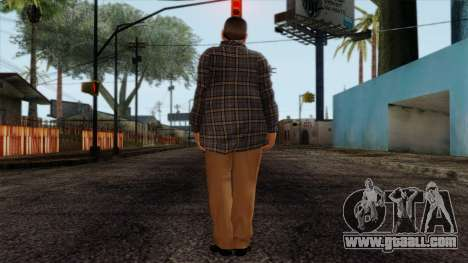 GTA 4 Skin 72 for GTA San Andreas second screenshot