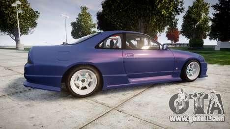 Nissan Skyline R33 GT-R for GTA 4 left view