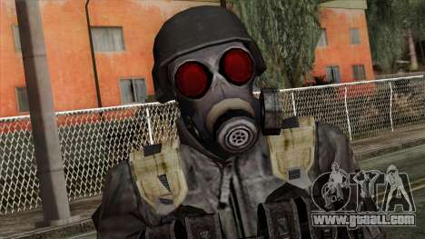 Resident Evil Skin 3 for GTA San Andreas third screenshot
