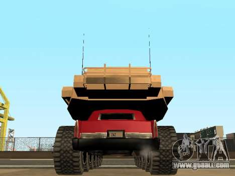 Tink Tank for GTA San Andreas inner view