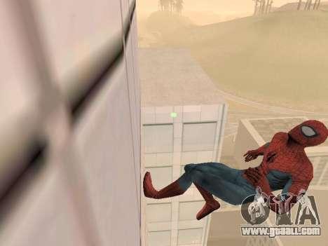 Spiderman 3 Crawling for GTA San Andreas second screenshot