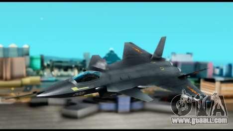 Chenyang J-20 BF4 for GTA San Andreas