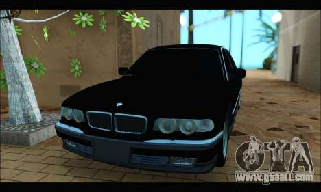 BMW 750iL for GTA San Andreas left view