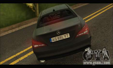 Mercedes Benz CLA 250 2014 for GTA San Andreas right view