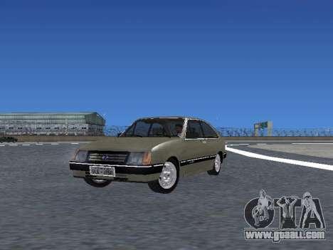 Chevrolet Chevette Hatch for GTA San Andreas interior
