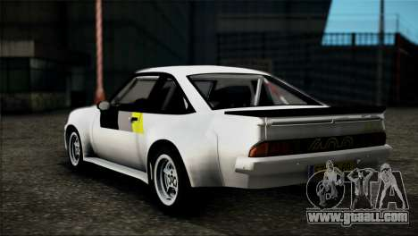Opel Manta 400 for GTA San Andreas left view