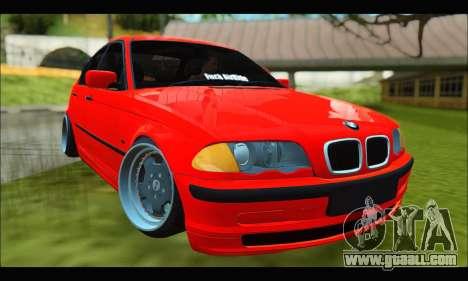 BMW e46 Sedan V2 for GTA San Andreas