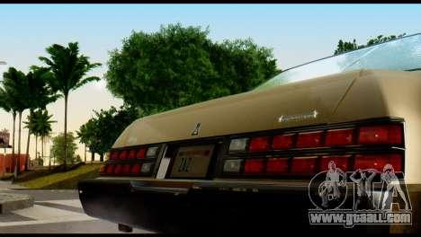 GTA 4 Esperanto for GTA San Andreas right view
