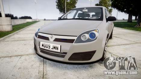 Vauxhall Astra 2009 Police [ELS] Unmarked for GTA 4