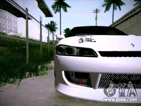 Nissan Silvia S15 Roux for GTA San Andreas inner view