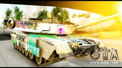 M1A2 Abrams for GTA San Andreas right view
