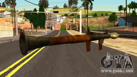 Rocket Launcher from GTA 4 for GTA San Andreas second screenshot
