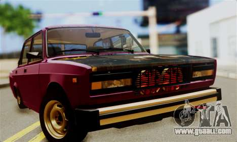 VAZ 2105 Combat Classic for GTA San Andreas right view