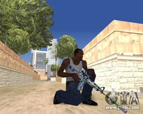 Graffity weapons for GTA San Andreas seventh screenshot