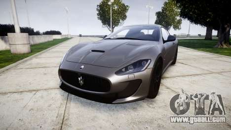 Maserati GranTurismo MC Stradale for GTA 4