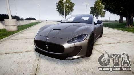 Maserati GranTurismo MC Stradale for GTA 4