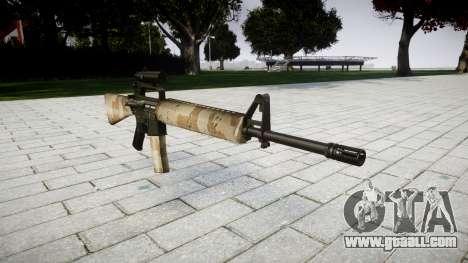 The M16A2 rifle [optical] nevada for GTA 4