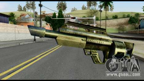 Jackhammer from Max Payne for GTA San Andreas