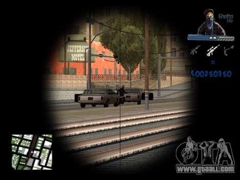 C-HUD Unique Ghetto for GTA San Andreas sixth screenshot