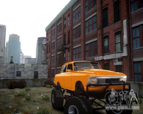 Moskvich 412 Monster for GTA 4 left view