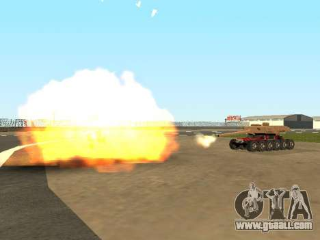 Tink Tank for GTA San Andreas side view