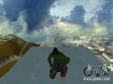 Ryder Skin Grove St. Family for GTA San Andreas third screenshot