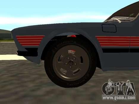 Volkswagen SP2 Original for GTA San Andreas side view