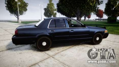 Ford Crown Victoria Police Interceptor [Retired] for GTA 4 left view