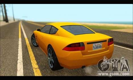 Ocelot  F620 (GTA V) for GTA San Andreas back left view