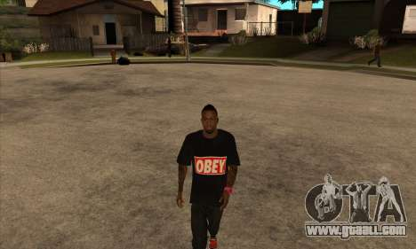 Obey Nigga for GTA San Andreas