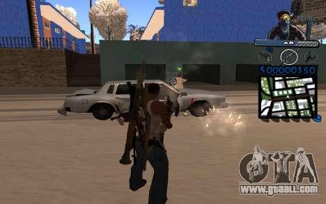C-HUD Ghetto Life for GTA San Andreas second screenshot