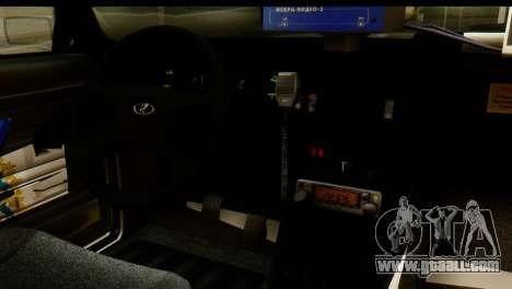 VAZ 2107 DPS for GTA San Andreas back view