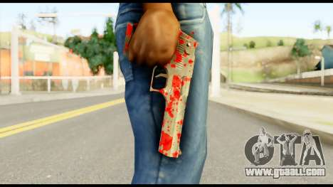 Desert Eagle with Blood for GTA San Andreas third screenshot