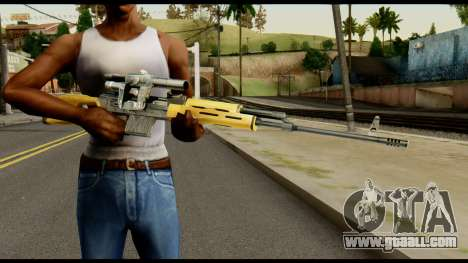SVD from Max Payne for GTA San Andreas