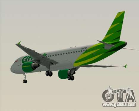 Airbus A320-200 Citilink for GTA San Andreas right view