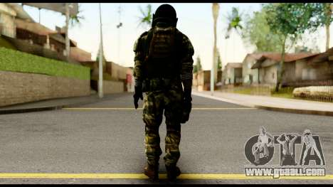 Support Troop from Battlefield 4 v2 for GTA San Andreas second screenshot