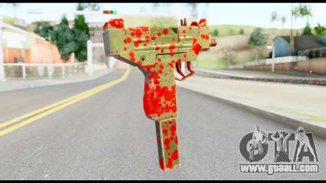 Micro SMG with Blood for GTA San Andreas second screenshot