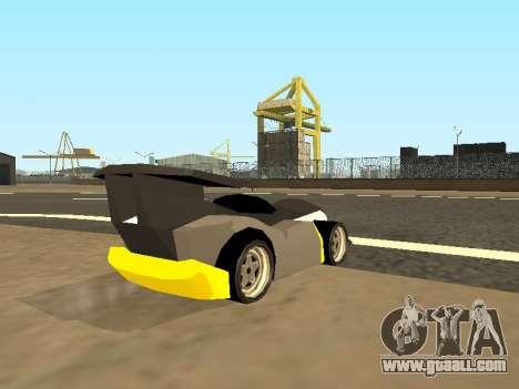 RC Bandit (Automotive) for GTA San Andreas left view