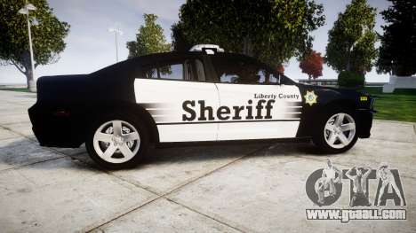 Dodge Charger 2013 County Sheriff [ELS] v3.2 for GTA 4 left view